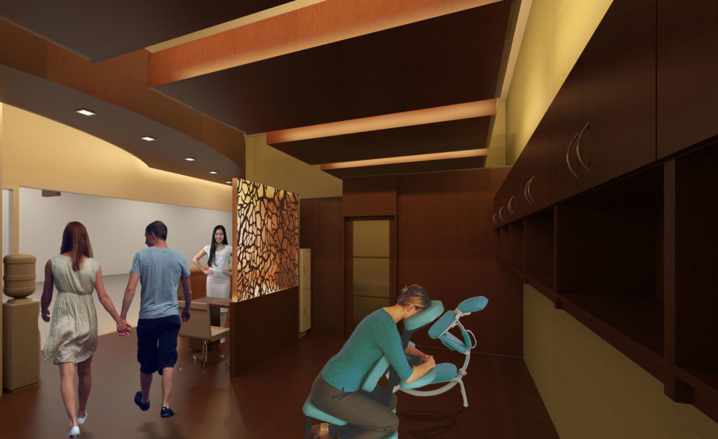 Self Center Spa Interior Terminal E