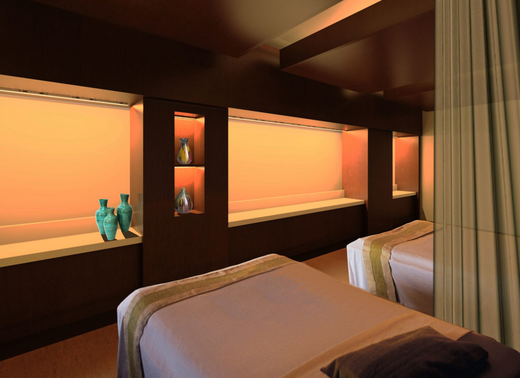 Self Center Spa Interior Terminal D Massage Room