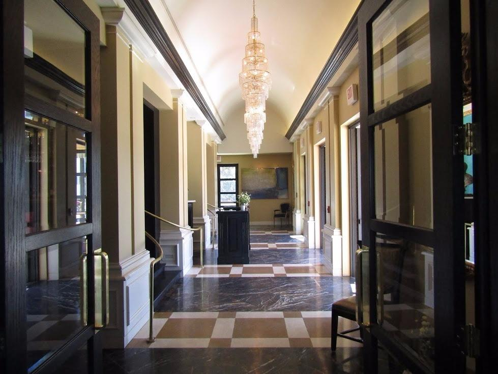 Patrizio's Fairview private entry hall